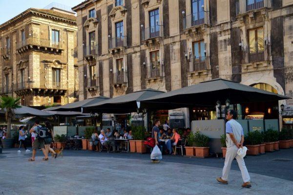 Caffe del Duomo in Catania Sicily
