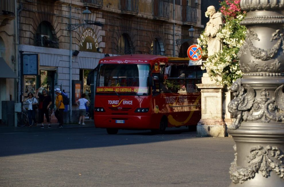 Things to see and do in Catania - take the hop on hop off bus