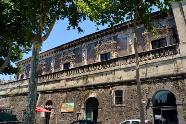 Unique and historic architecture in Catania