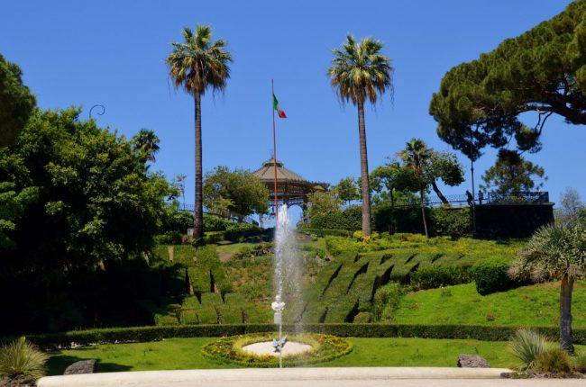Things to see in Catania - the Giardiino Bellini