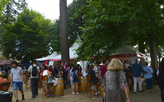 Grounds at the St Emilion Jazz Festival