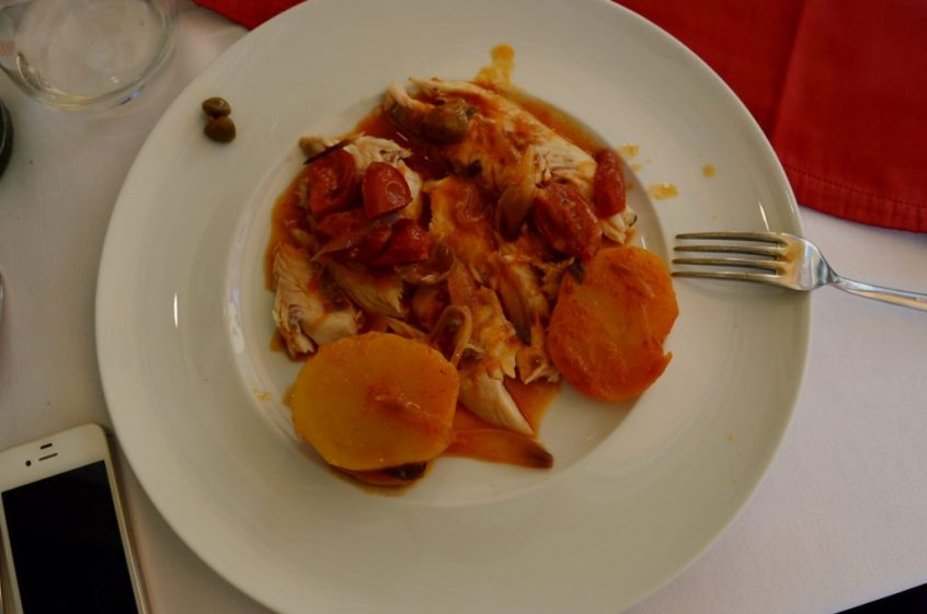 Oven baked fish Cooking Class in Taormina