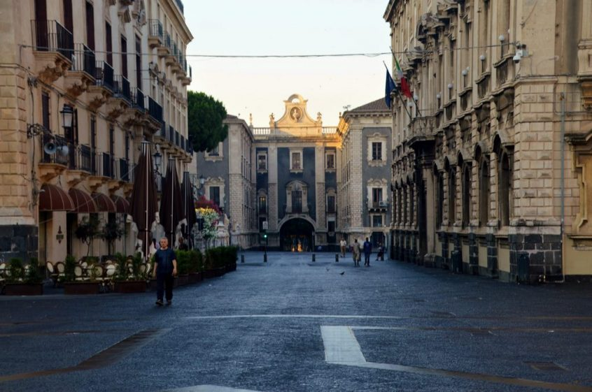 Things to see in Catania - Porta Uzeda