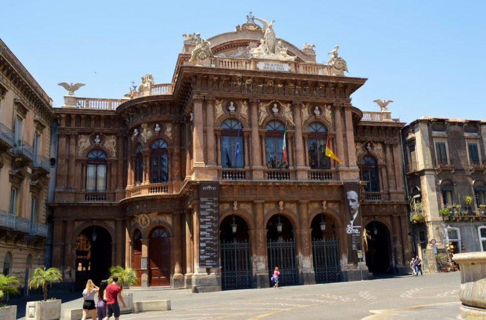 Teatro Bellini in Catania, Sicily