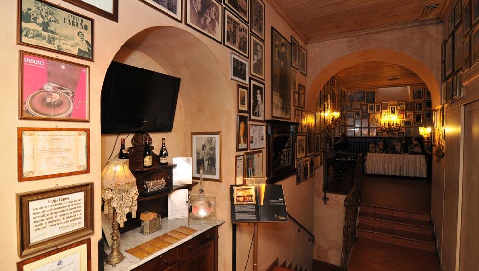 Caruso Restaurant in Sorrento