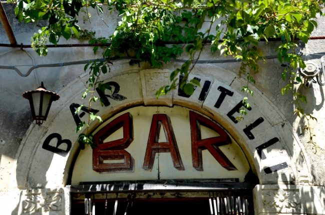 Bar Vitelli Savoca, Italy
