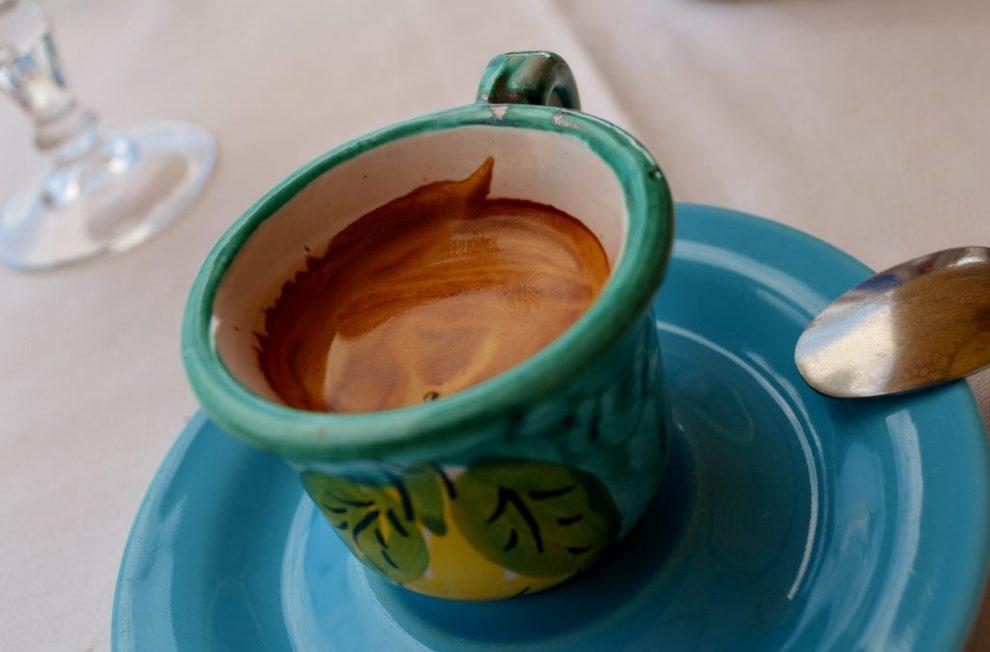 Espresso at Gran Caffe on Capri, Amalfi Coast