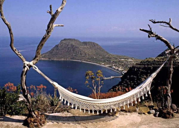 Islands off Italy - Aeolian island of Filicudi