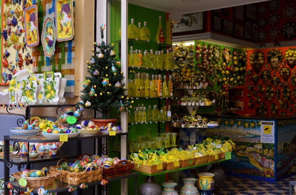 Best place to buy Limoncello is at Limonora shop in Sorrento.