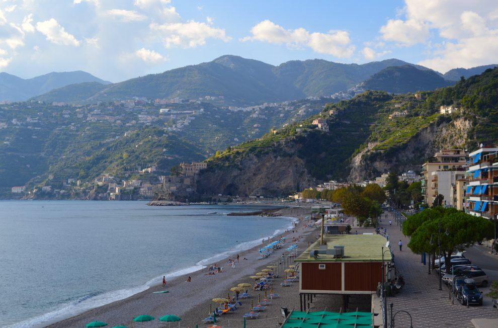 Quiet things to do on Amalfi Coast is visit the smaller villages - Maiori, Italy