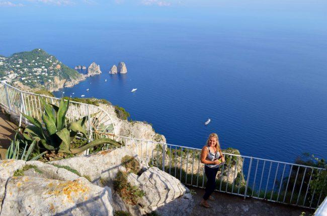What to see on Amalfi Coast; the views! Anacapri, Italy