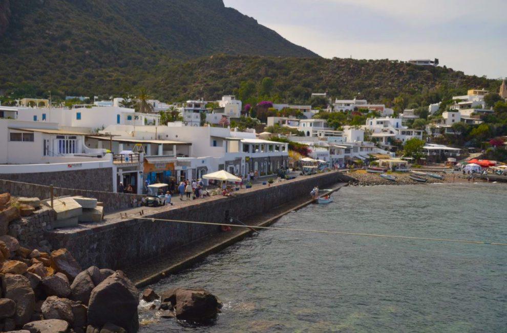 Port of Panarea Island Aeolian Sicily