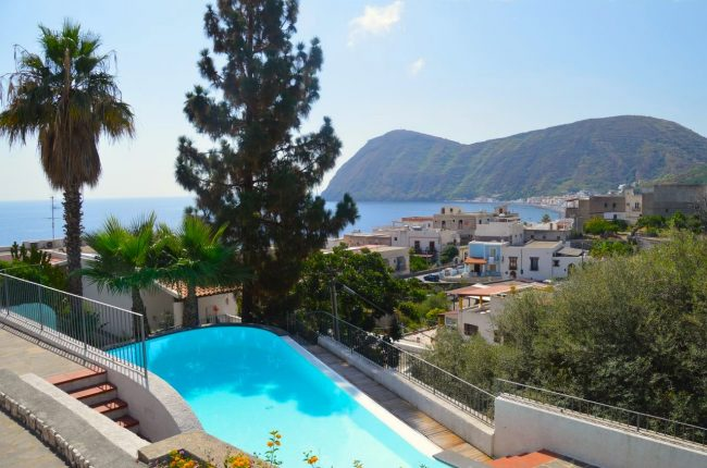 Eolian island of Lipari, Sicily