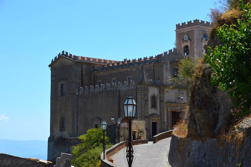 Church of San Nicolo in Savoca, Sicily.