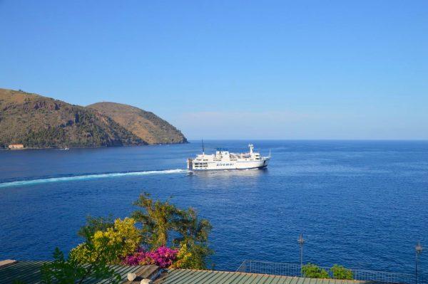 Siremar Ferry Lipari Aeolian island sicily