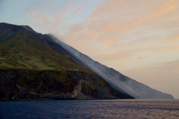 Stromboli Eolian island Sicily volcano Sciara del Fuoco