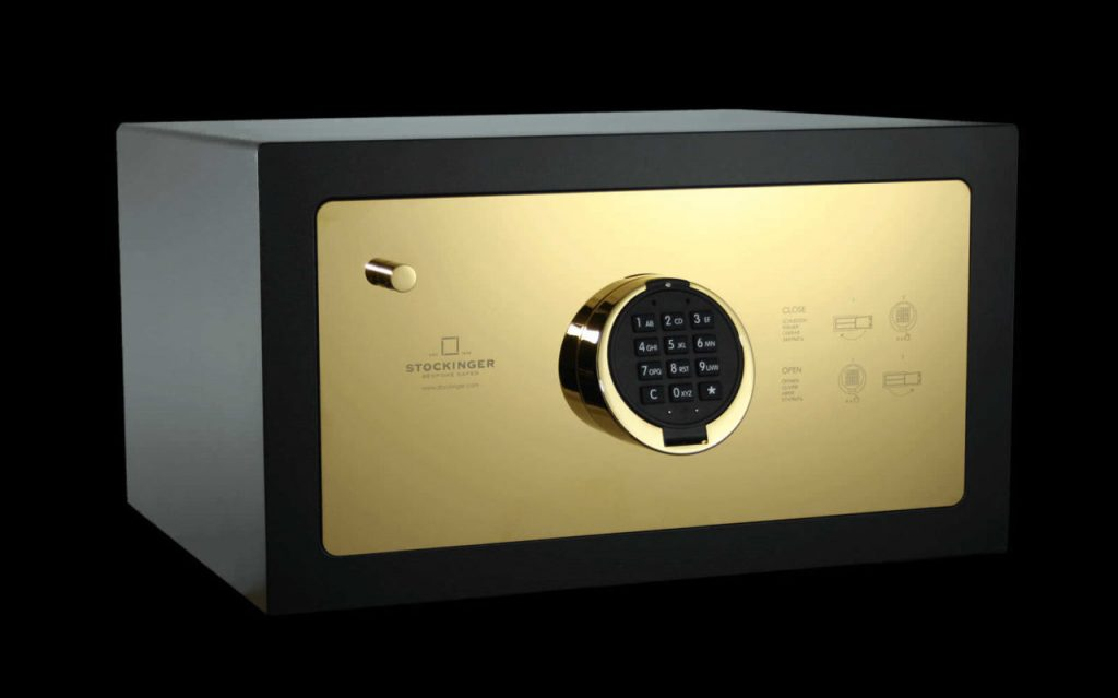 Use the in room safe in hotels to stay safe while traveling