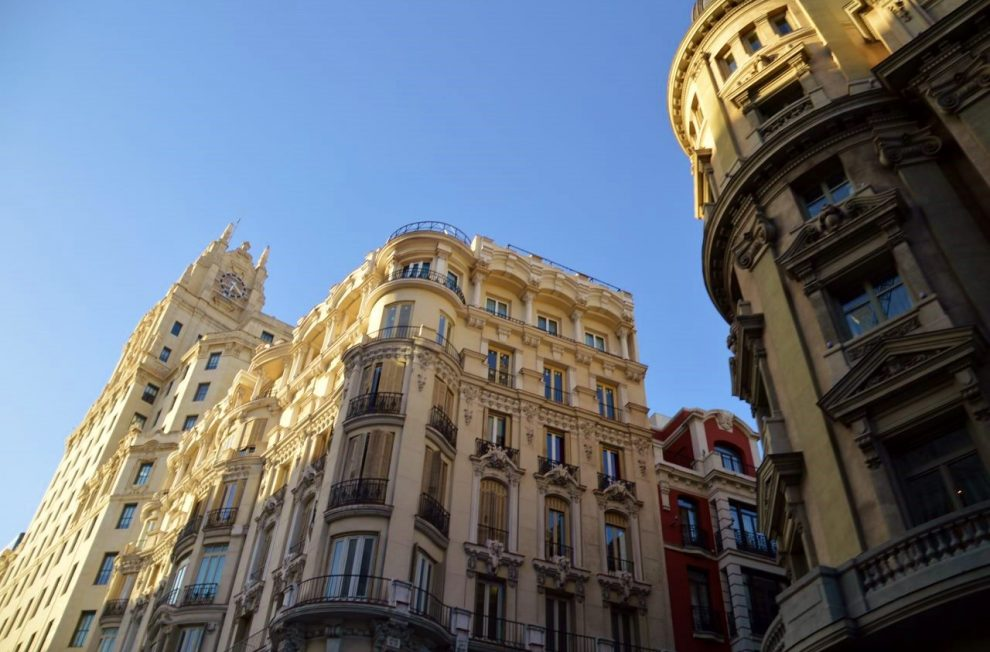 Madrid's lovely architecture