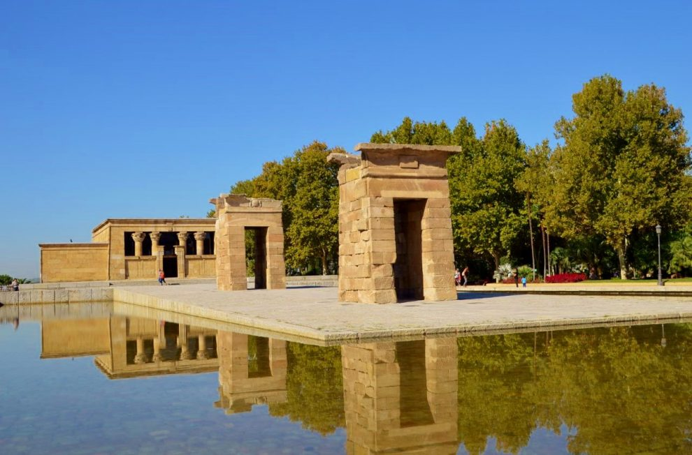 Templo de Debod Madrid Spain