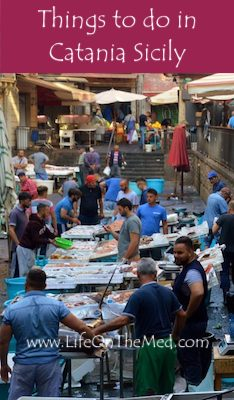Catania Fish Market Pin