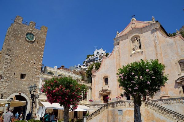 Taormina church of San Giuseppe
