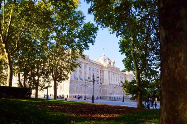 Madrid's Palacio Real on Tour One.