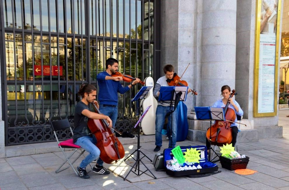 Madrid's music scene