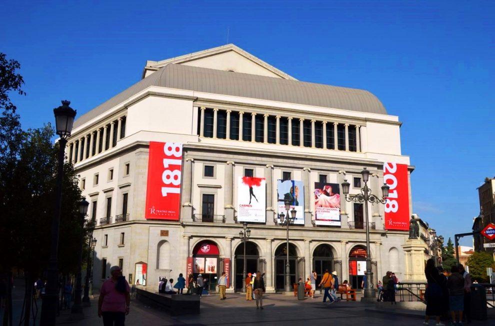 Teatro Real near Opera Metro stop