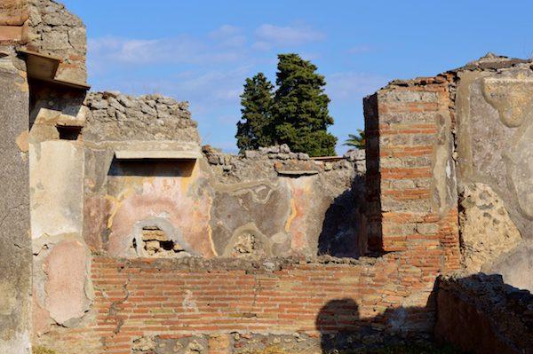Frescoes Pompeii