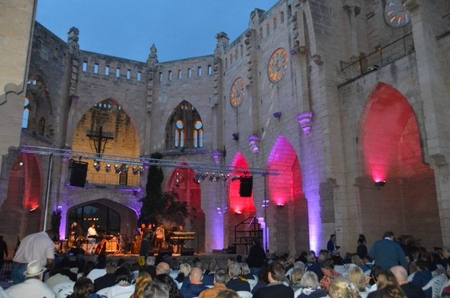 The Mallorca Smooth Jazz All Stars Evening at the Unfinished Church in Son Servera