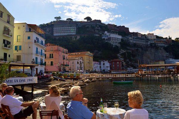 Old Port in Sorrento Italy