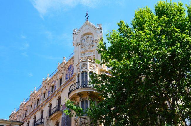 Palma Mallorca architecture
