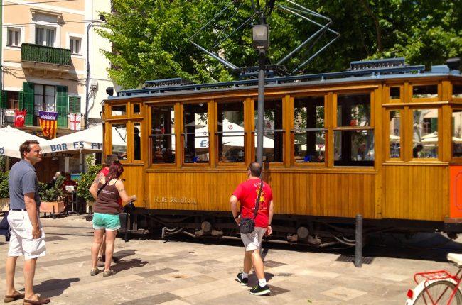 Tram of Soller, Majorca