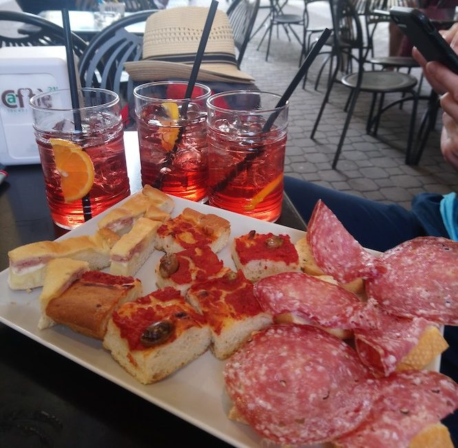 Italian's know how to do an apero right.