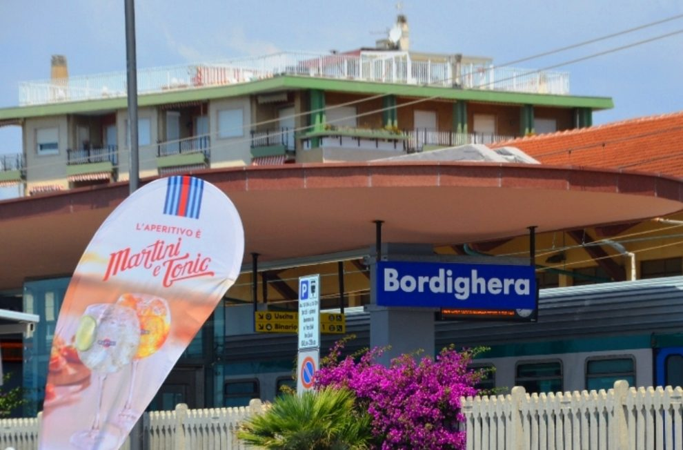 Day trip via train to Bordighera Italy from France