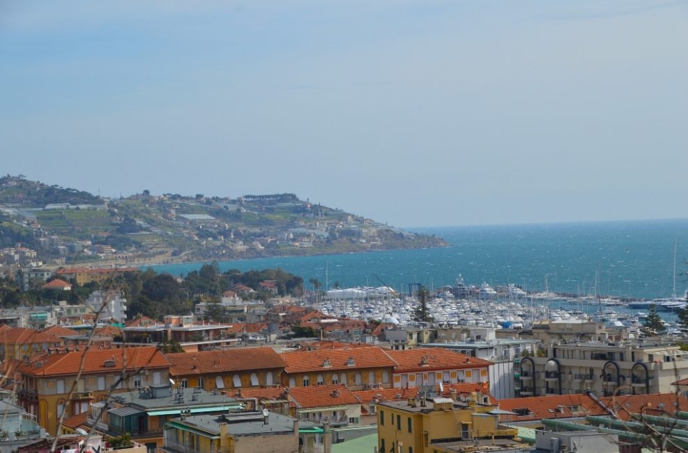 Sanremo italy is an easy day trip from Nice with great seaview from the upper village