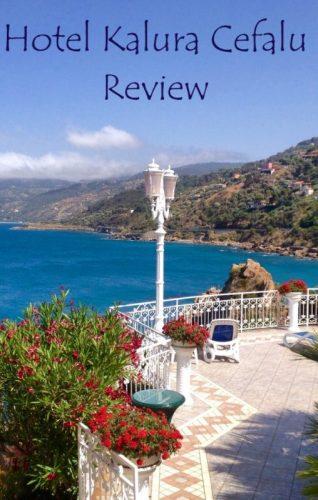 Hotel Kalura Cefalu Sicily terrace