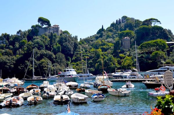 Castello Brown on the hill Portofino