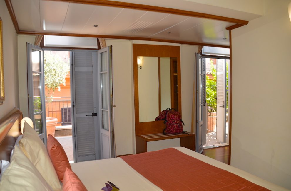 Room 505 Hotel Ponte Sisto Rome w Terrace