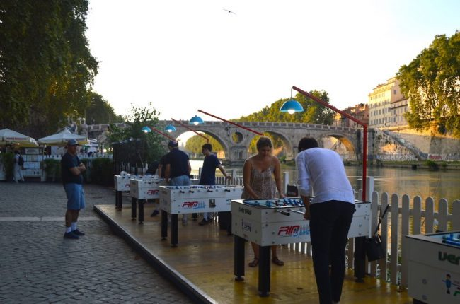 Lungo il Tevere foosball tables