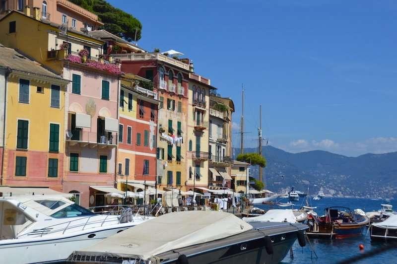 Portofino italy boats