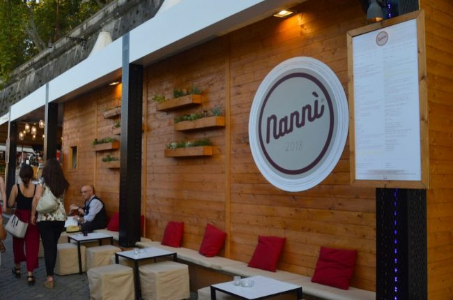 Nanni's restaurant is new for 2018