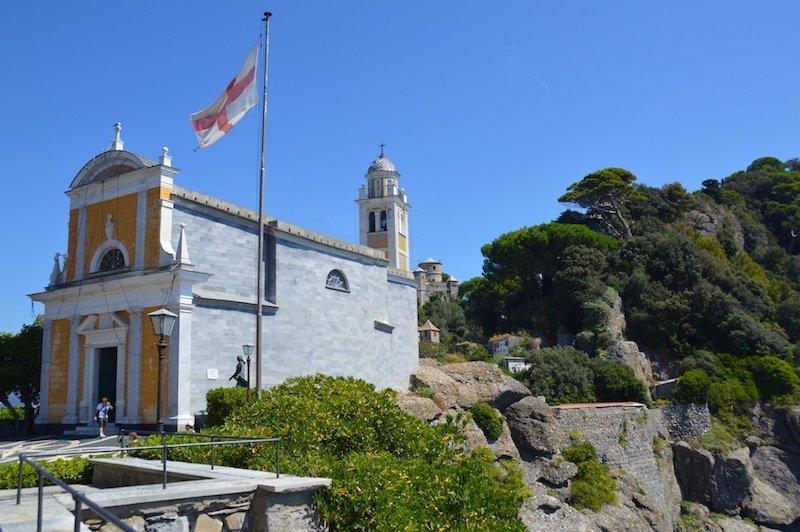 San Georgio's Church, Portofino, Italy