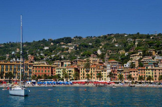 Santa Margarita Ligure near Portofino Italy