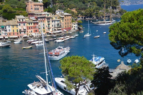 Harbor of Portofino Italy