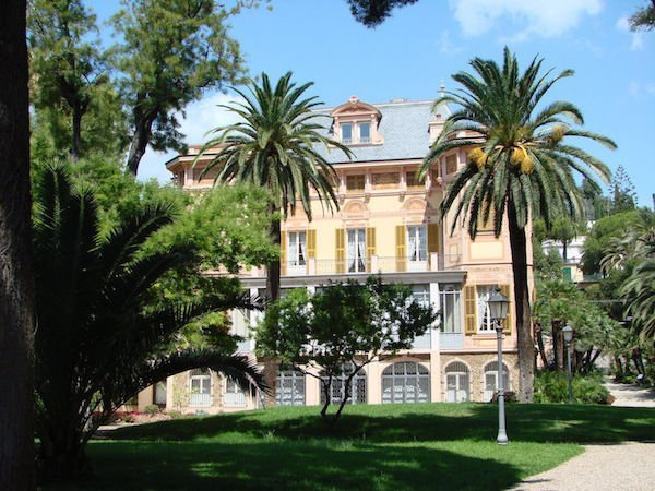 Alfred Nobel Villa in Sanremo Italy