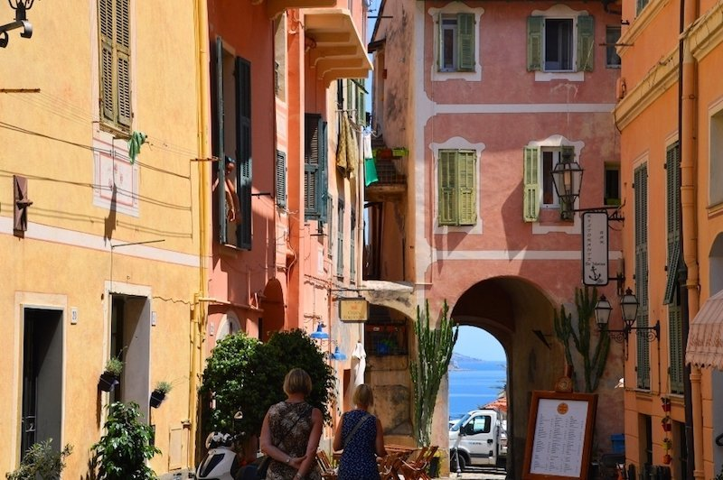 Bordighera Italy Old Town