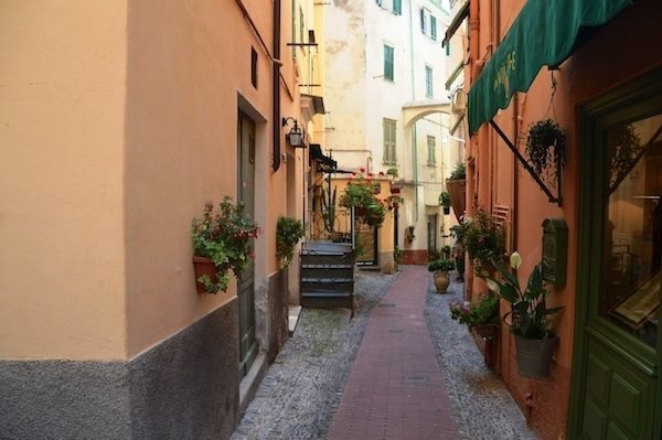 Bordighera Old Town lane