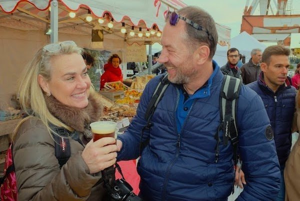 Craft beers at Imperia festival
