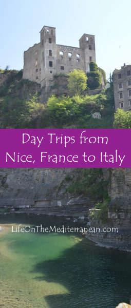 Day trips to Italy from France